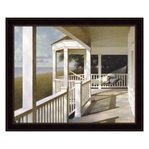 Porch Swing 2 Framed Wall Art