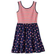 Girls 4-10 Jumping Beans® Americana Cross-Back Dress