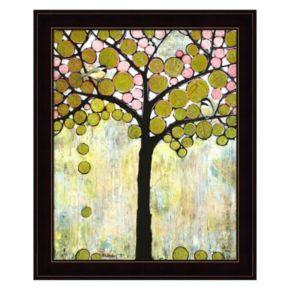Chickadee Tree 1 Framed Wall Art
