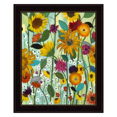 Sunflower House Framed Wall Art