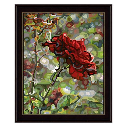 Last Rose Of Summer Framed Wall Art