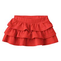 Baby Girl Jumping Beans® Solid Tiered Skort