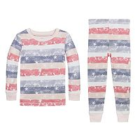 Toddler Burt's Bees Baby Organic Stars & Stripes Pajama Set