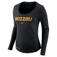 Women's Nike Missouri Tigers Slubbed Dri-FIT Tee