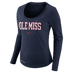 Women's Nike Ole Miss Rebels Slubbed Dri-FIT Tee