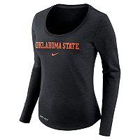 Women's Nike Oklahoma State Cowboys Slubbed Dri-FIT Tee