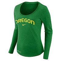 Women's Nike Oregon Ducks Slubbed Dri-FIT Tee