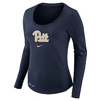 Women's Nike Pitt Panthers Slubbed Dri-FIT Tee