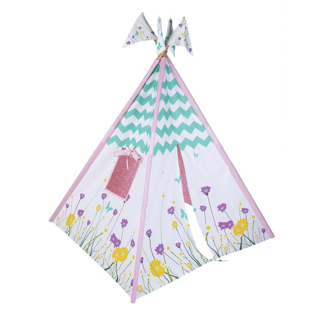 Pacific Play Tents Wildflowers Teepee