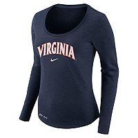 Women's Nike Virginia Cavaliers Slubbed Dri-FIT Tee