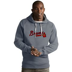 Men's Antigua Atlanta Braves Victory Logo Hoodie