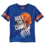 "Boys 4-8 OshKosh B'gosh® ""Rule The Court"" Basketball Graphic Tee"