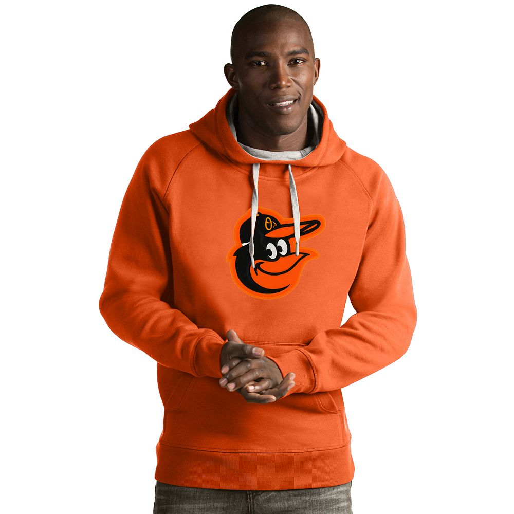 Men's Antigua Baltimore Orioles Victory Logo Hoodie