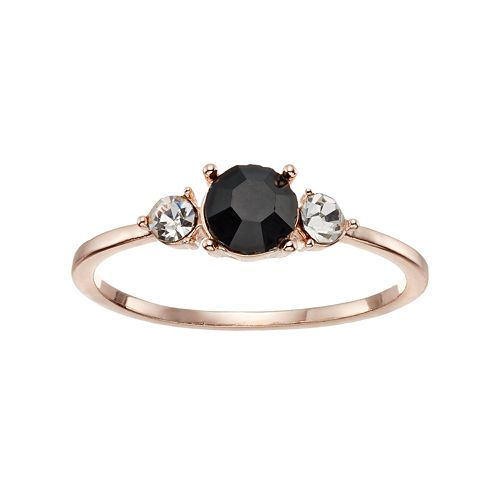 LC Lauren Conrad Triple Stone Ring