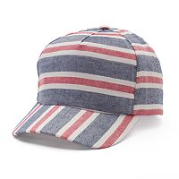 Women's Mudd® Striped Baseball Hat