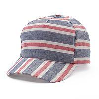 Women's Mudd® Striped Baseball Hat