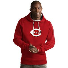 Men's Antigua Cincinnati Reds Victory Logo Hoodie