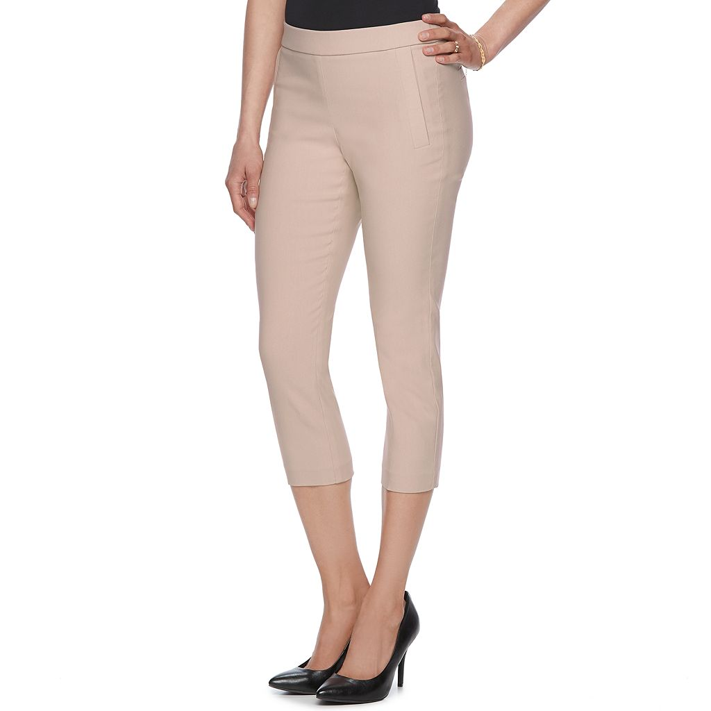 Women's ELLE™ Pull-On Dress Capris