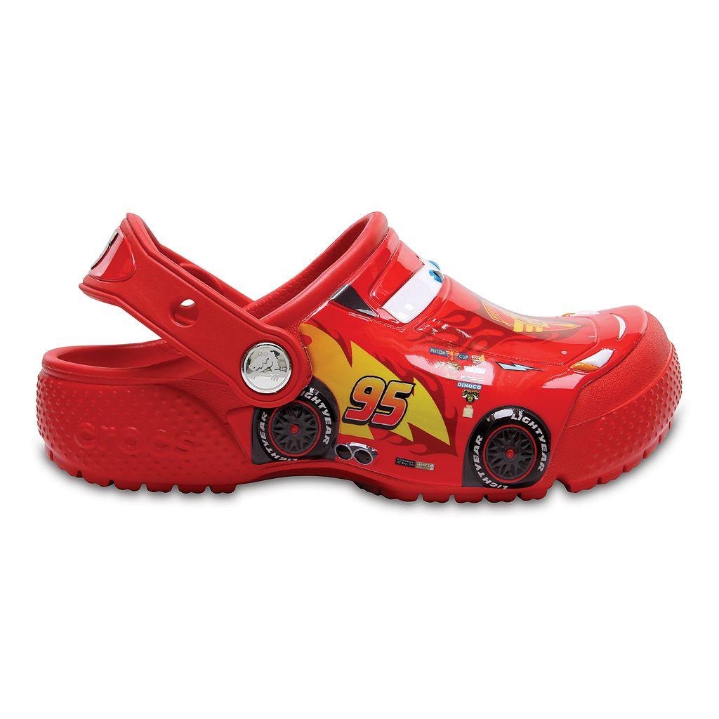 Crocs Disney / Pixar Cars Lightning McQueen Kids Clogs