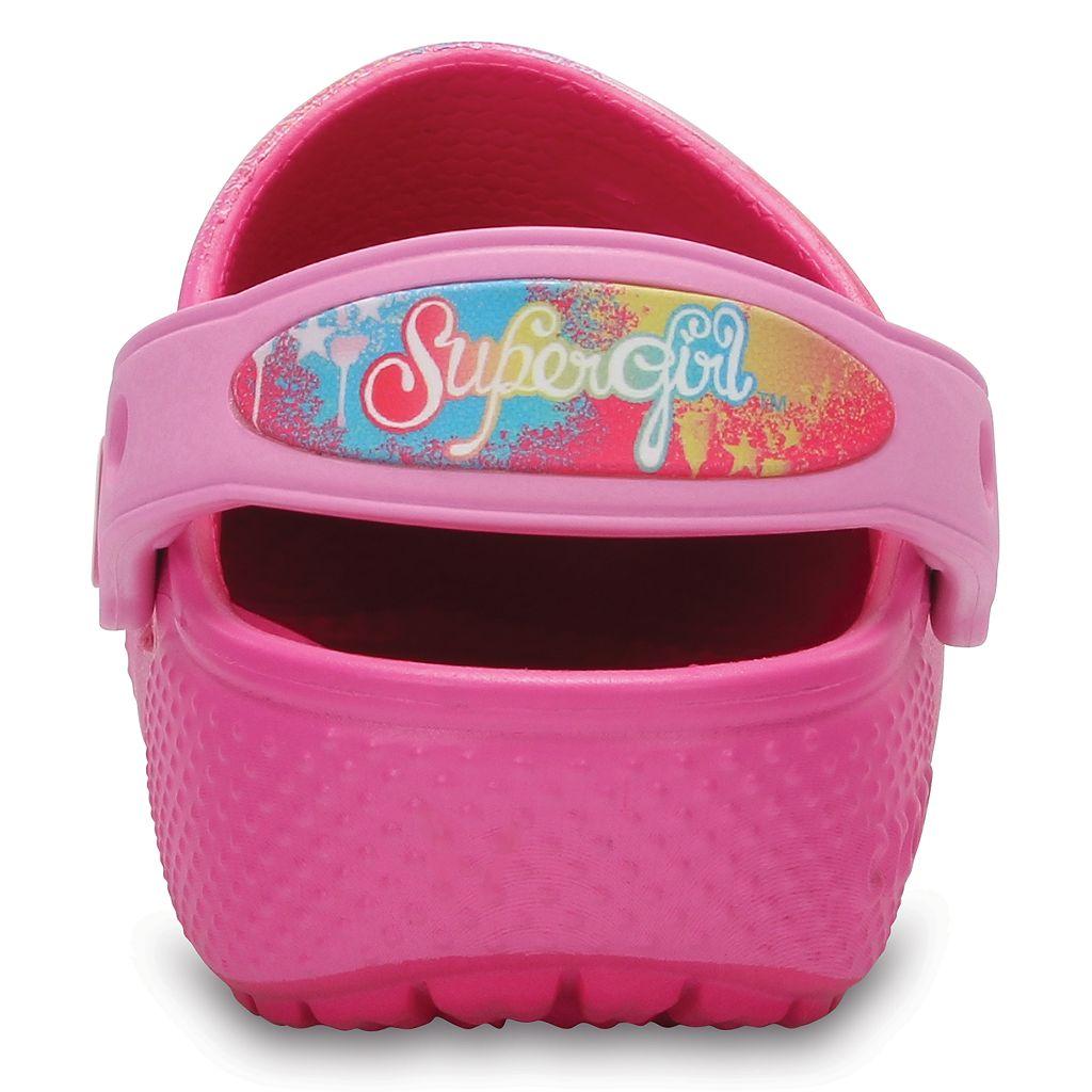 Crocs DC Comics Supergirl Girls' Clogs