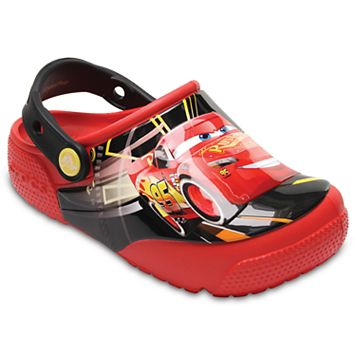 Crocs Disney / Pixar Cars Lightning McQueen Kids Light-Up Clogs