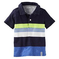 Boys 4-10 OshKosh B'gosh® Engineered Stripe Jersey Polo Shirt