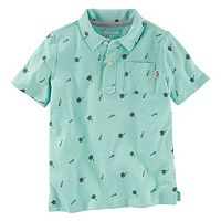 Boys 4-8 OshKosh B'gosh® Palm Trees & Sail Boats Jersey Polo