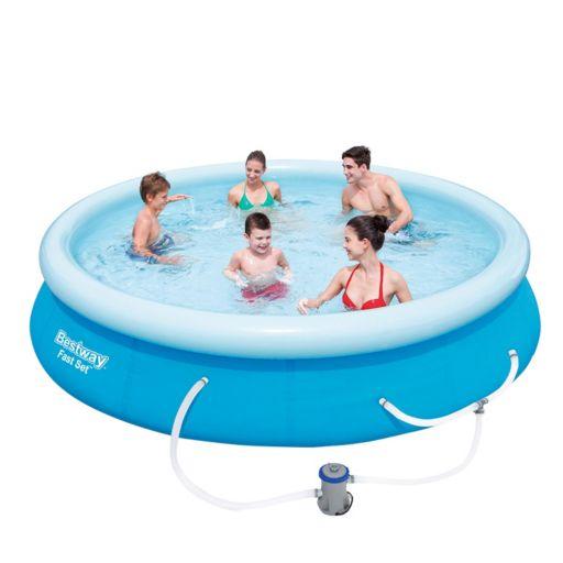 """Best Way Fast Set 12' x 30"""" Pool"""