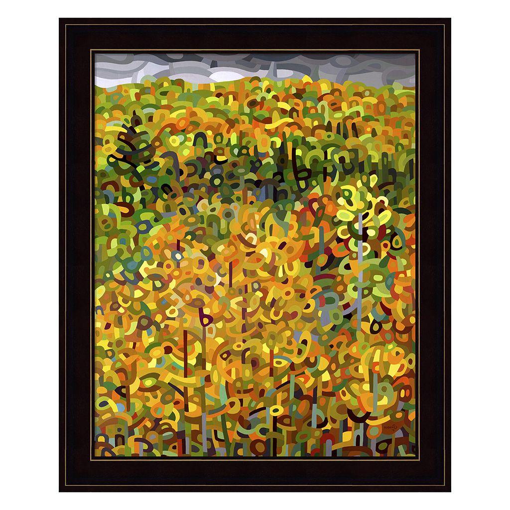 Towards Autumn Framed Wall Art
