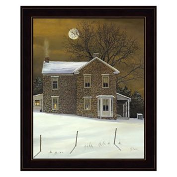 Amber Moon Framed Wall Art