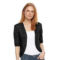 Women's World Unity Crochet Bolero Cardigan
