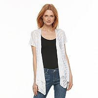 Women's World Unity Eyelet Cascade Cardigan