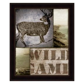 """Wild Game"" Framed Wall Art"