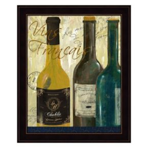 Vins De France Framed Wall Art