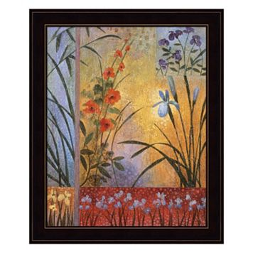 Floral Symphony I Framed Wall Art