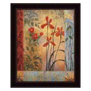 Floral Symphony II Framed Wall Art