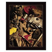 Firefighting Framed Wall Art