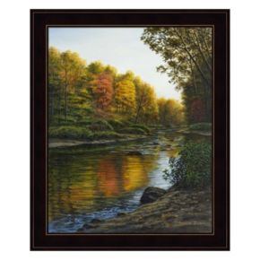 River Of Gold Framed Wall Art