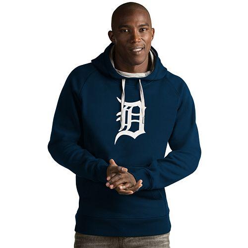 Men's Antigua Detroit Tigers Victory Logo Hoodie