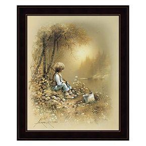 Little Boy Framed Wall Art
