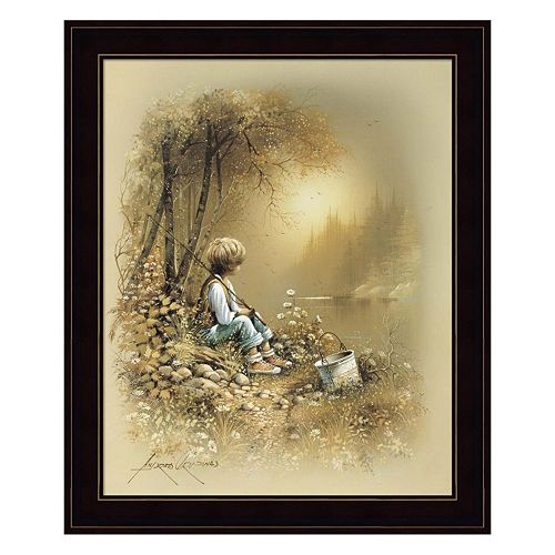 Little Boy Framed Wall Art