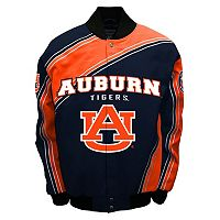Men's Franchise Club Auburn Tigers Warrior Twill Jacket