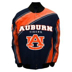 Men's Franchise Club Auburn Tigers Warrior Twill Jacket