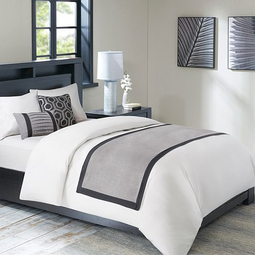 Madison Park 3-piece Brooklyn Bed Scarf Set