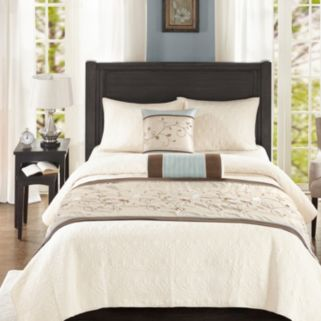 Madison Park 3-piece Grace Bed Scarf Set