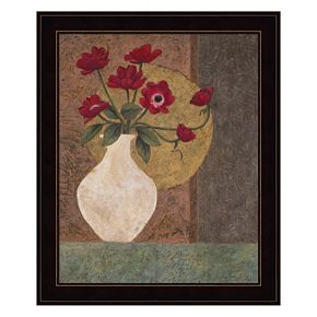 Red Poppies Framed Wall Art