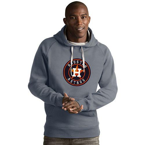 Men's Antigua Houston Astros Victory Logo Hoodie