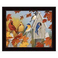 Fall Gathering Framed Wall Art