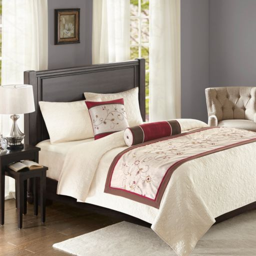 Madison Park 3-piece Belle Bed Scarf Set