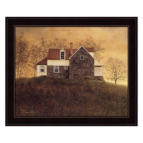 Autumnal Sunset Framed Wall Art